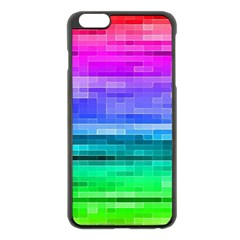 Pretty Color Apple Iphone 6 Plus/6s Plus Black Enamel Case by BangZart