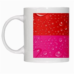 Color Abstract Drops White Mugs by BangZart