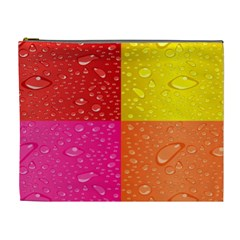 Color Abstract Drops Cosmetic Bag (xl)