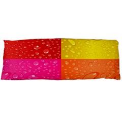 Color Abstract Drops Body Pillow Case (dakimakura) by BangZart