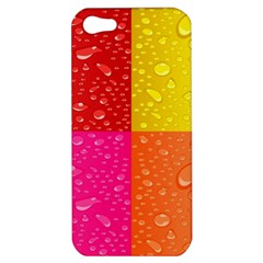 Color Abstract Drops Apple Iphone 5 Hardshell Case