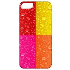 Color Abstract Drops Apple Iphone 5 Classic Hardshell Case by BangZart