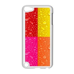 Color Abstract Drops Apple Ipod Touch 5 Case (white) by BangZart