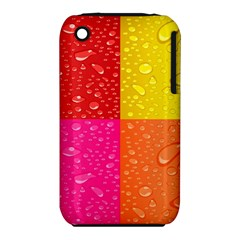 Color Abstract Drops Iphone 3s/3gs by BangZart