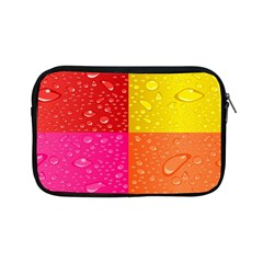Color Abstract Drops Apple Ipad Mini Zipper Cases by BangZart