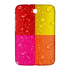 Color Abstract Drops Samsung Galaxy Note 8 0 N5100 Hardshell Case