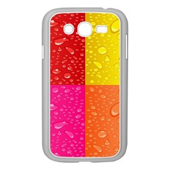 Color Abstract Drops Samsung Galaxy Grand Duos I9082 Case (white)