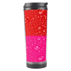 Color Abstract Drops Travel Tumbler