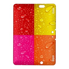 Color Abstract Drops Kindle Fire Hdx 8 9  Hardshell Case by BangZart