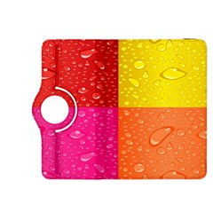 Color Abstract Drops Kindle Fire Hdx 8 9  Flip 360 Case by BangZart