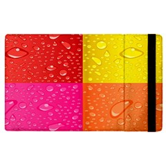 Color Abstract Drops Apple Ipad Pro 9 7   Flip Case by BangZart
