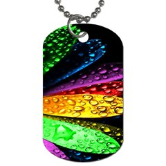 Abstract Flower Dog Tag (one Side) by BangZart