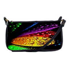 Abstract Flower Shoulder Clutch Bags by BangZart