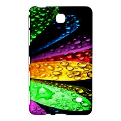 Abstract Flower Samsung Galaxy Tab 4 (7 ) Hardshell Case  by BangZart