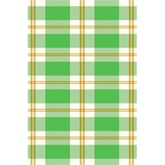 Abstract Green Plaid 5 5  X 8 5  Notebooks by BangZart