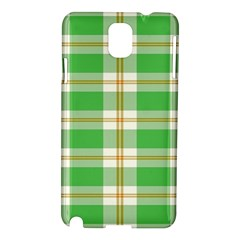 Abstract Green Plaid Samsung Galaxy Note 3 N9005 Hardshell Case