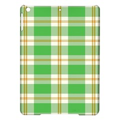 Abstract Green Plaid Ipad Air Hardshell Cases