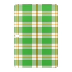 Abstract Green Plaid Samsung Galaxy Tab Pro 12 2 Hardshell Case
