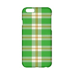 Abstract Green Plaid Apple Iphone 6/6s Hardshell Case by BangZart