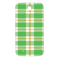 Abstract Green Plaid Samsung Galaxy Mega I9200 Hardshell Back Case by BangZart