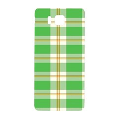 Abstract Green Plaid Samsung Galaxy Alpha Hardshell Back Case