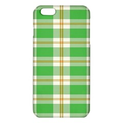 Abstract Green Plaid Iphone 6 Plus/6s Plus Tpu Case