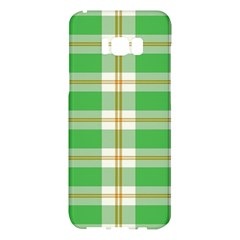 Abstract Green Plaid Samsung Galaxy S8 Plus Hardshell Case
