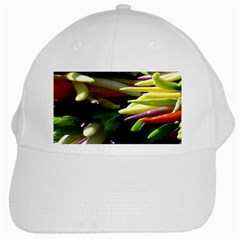 Bright Peppers White Cap by BangZart