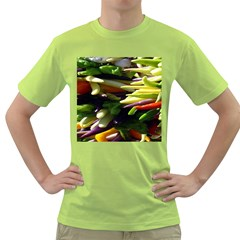 Bright Peppers Green T Shirt