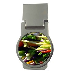 Bright Peppers Money Clips (round)