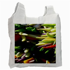Bright Peppers Recycle Bag (one Side)