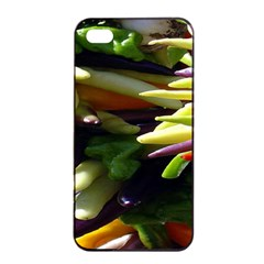 Bright Peppers Apple Iphone 4/4s Seamless Case (black) by BangZart