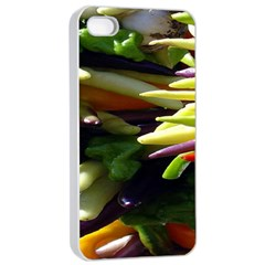 Bright Peppers Apple Iphone 4/4s Seamless Case (white)
