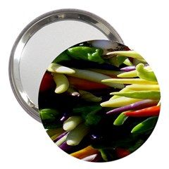 Bright Peppers 3  Handbag Mirrors
