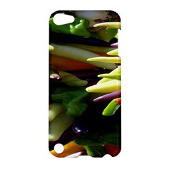 Bright Peppers Apple Ipod Touch 5 Hardshell Case by BangZart