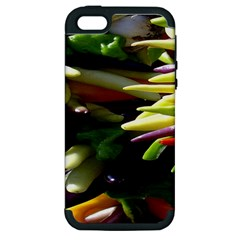 Bright Peppers Apple Iphone 5 Hardshell Case (pc+silicone)