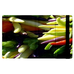 Bright Peppers Apple Ipad 2 Flip Case by BangZart