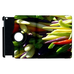 Bright Peppers Apple Ipad 3/4 Flip 360 Case by BangZart