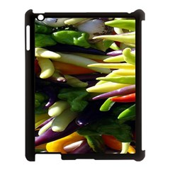 Bright Peppers Apple Ipad 3/4 Case (black) by BangZart