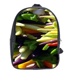 Bright Peppers School Bags (xl)  by BangZart