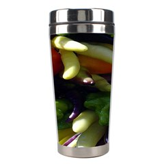 Bright Peppers Stainless Steel Travel Tumblers by BangZart