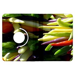 Bright Peppers Kindle Fire Hdx Flip 360 Case by BangZart