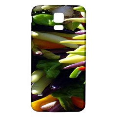 Bright Peppers Samsung Galaxy S5 Back Case (white) by BangZart