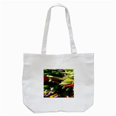 Bright Peppers Tote Bag (white)
