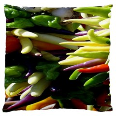 Bright Peppers Standard Flano Cushion Case (two Sides)