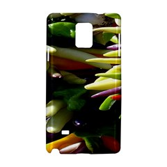 Bright Peppers Samsung Galaxy Note 4 Hardshell Case by BangZart
