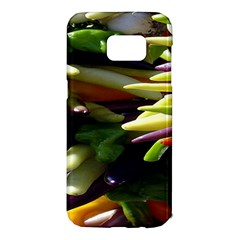 Bright Peppers Samsung Galaxy S7 Edge Hardshell Case