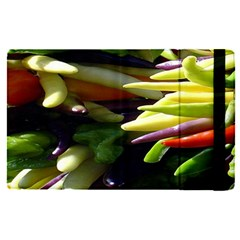 Bright Peppers Apple Ipad Pro 12 9   Flip Case by BangZart