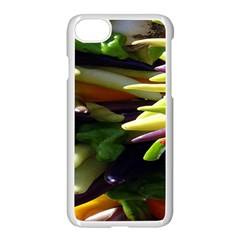 Bright Peppers Apple Iphone 7 Seamless Case (white) by BangZart