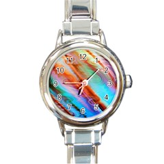 Cool Design Round Italian Charm Watch by BangZart